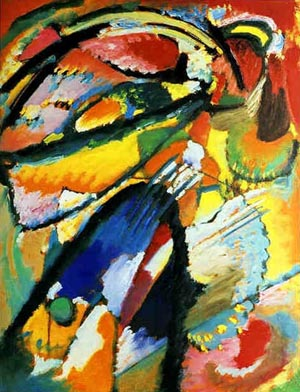 Angel of the Last Judgment by Wassily Kandinski