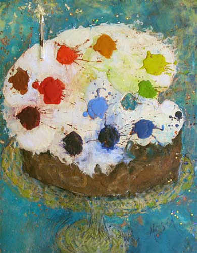 Palette Cake by Marjorie Masel
